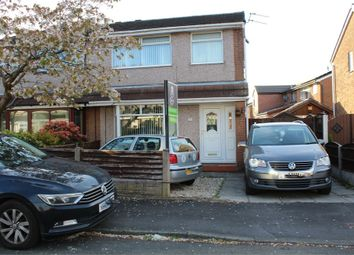Thumbnail 3 bed semi-detached house for sale in Parkfields, Abram, Wigan, Lancashire