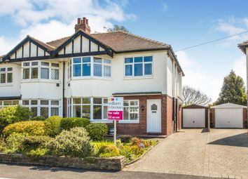 Thumbnail 4 bed semi-detached house for sale in Church Crescent, Moortown, Leeds