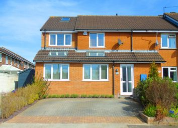Thumbnail 3 bed semi-detached house for sale in Porlock Drive, Sully, Penarth