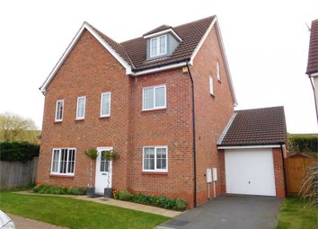 Thumbnail 5 bed detached house for sale in Monks Way, Shireoaks, Worksop, Nottinghamshire