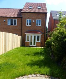 Thumbnail 3 bed end terrace house to rent in Wild Geese Way, Mexborough, South Yorkshire