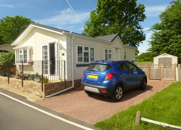 Thumbnail 2 bed mobile/park home for sale in Woodlands Park, Biddenden, Ashford