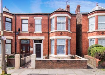 Thumbnail 4 bed semi-detached house for sale in Canterbury Road, Wallasey