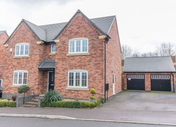 Thumbnail 4 bed detached house for sale in David Hobbs Rise, Market Harborough