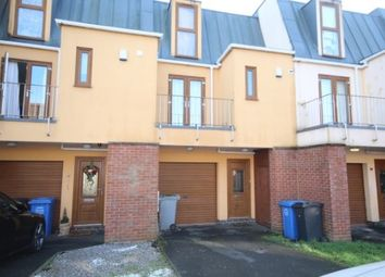 Thumbnail 3 bed town house for sale in Cornwall Road, Kettering