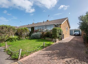 Thumbnail 2 bedroom semi-detached bungalow for sale in St. Margarets Rise, Bishopstone, Seaford