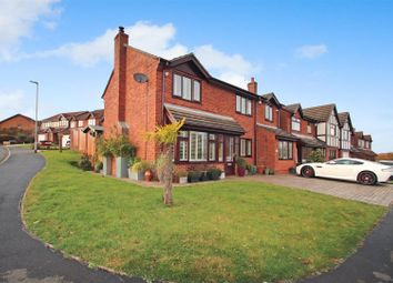 Thumbnail 4 bed detached house for sale in Elstree Grove, Birches Head, Stoke-On-Trent