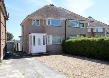 Thumbnail 3 bed semi-detached house for sale in Churchway, Weston Mill, Plymouth
