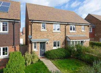Thumbnail 3 bed semi-detached house for sale in Brambling Avenue, Finberry, Ashford