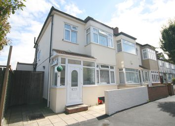 Thumbnail 3 bed end terrace house to rent in Kensington Road, Romford
