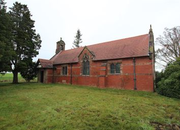 Thumbnail Land for sale in All Saints Church, Balterley Green Road, Balterley, Newcastle-Under-Lyme, Staffordshire