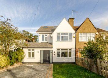 Thumbnail 4 bed semi-detached house for sale in Regent Close, Kenton