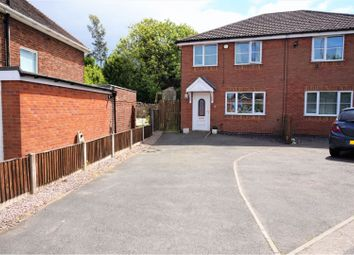 Thumbnail 3 bed semi-detached house for sale in Abbey Road, Blidworth