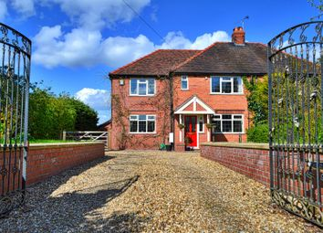 Thumbnail 4 bed semi-detached house for sale in Wrinehill Road, Wybunbury, Nantwich