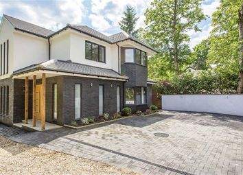 Thumbnail 5 bed detached house for sale in Aldenham Avenue, Radlett