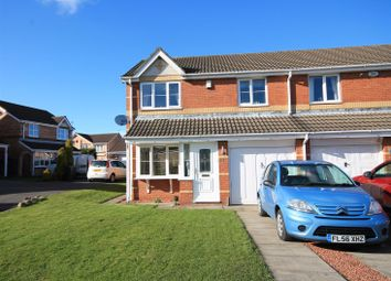 Thumbnail 3 bed semi-detached house for sale in Middlehope Grove, Bishop Auckland