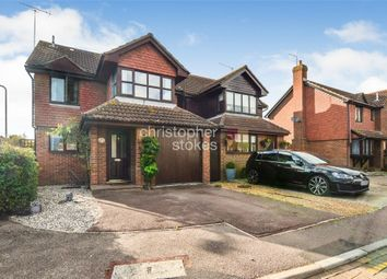 Thumbnail 4 bed detached house for sale in Girton Court, Cheshunt, Hertfordshire