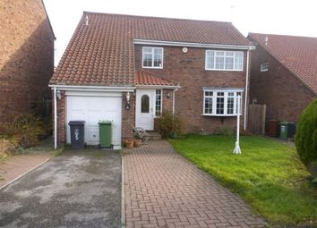 Thumbnail 4 bed detached house to rent in The Paddock, Elwick, Hartlepool