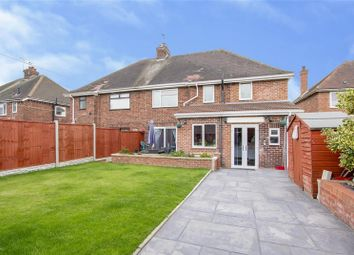 Thumbnail 4 bed semi-detached house for sale in Cherry Tree Road, Gainsborough