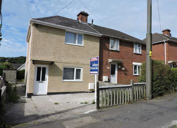 Thumbnail 2 bed semi-detached house for sale in Gwyrddgoed Road, Pontardawe, Swansea