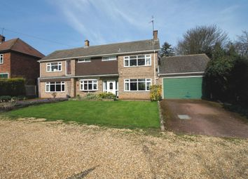 Thumbnail 4 bed detached house for sale in Thorpe Road, Longthorpe, Peterborough