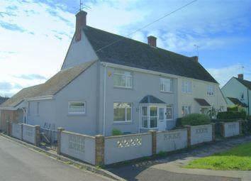 Webbs Way, Burbage, Marlborough SN8. 3 bed semi-detached house for sale