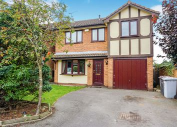 Thumbnail 4 bed detached house for sale in Thorpe Close, Crewe
