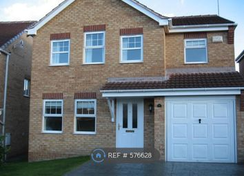 Thumbnail 4 bed detached house to rent in Damson Croft, Chesterfield