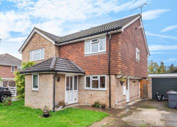 Thumbnail 3 bedroom semi-detached house for sale in Orchard Close, Ash Vale, Aldershot