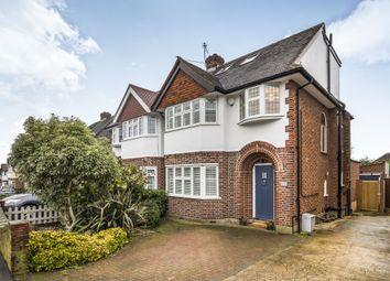 Thumbnail 4 bed semi-detached house for sale in Pembroke Avenue, Berrylands, Surbiton