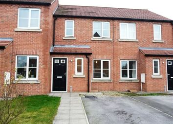 Thumbnail 2 bed terraced house to rent in Oak Way, Selby