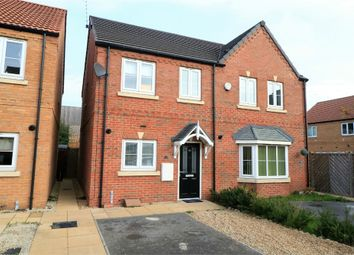 Thumbnail 2 bed semi-detached house for sale in Canalside View, Kilnhurst, Mexborough, South Yorkshire