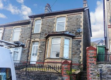 Thumbnail 4 bed semi-detached house for sale in Islwyn Street, Abercarn, Newport