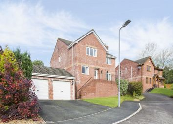 Thumbnail 4 bed detached house for sale in Dorallt Close, Cwmbran