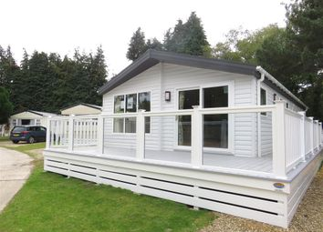 Thumbnail 3 bedroom mobile/park home for sale in Organford Road, Holton Heath, Poole