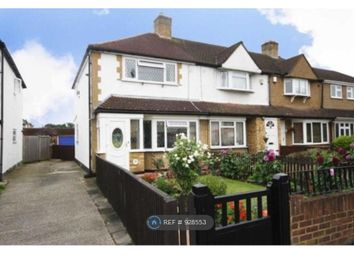 Thumbnail 3 bed end terrace house to rent in Swan Road, Feltham