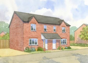 Thumbnail 2 bed semi-detached house for sale in Gilden Drive Development, Lutterworth Road, Gilmorton