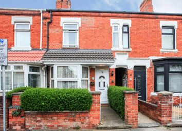 Thumbnail 3 bed terraced house for sale in Harris Street, Peterborough