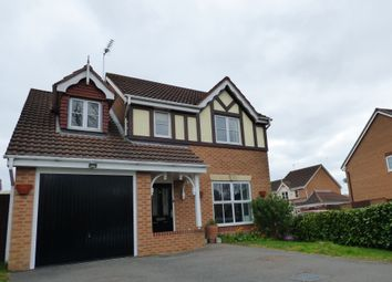 Thumbnail 4 bed detached house for sale in Long Lane, Coalville