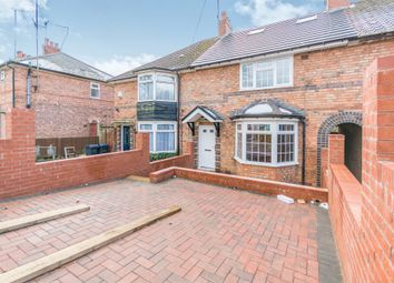 Thumbnail 5 bed terraced house for sale in Poole Crescent, Harborne, Birmingham