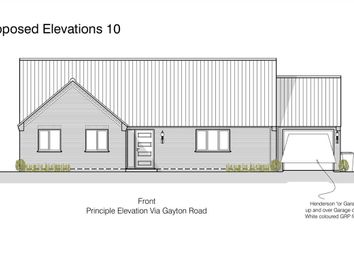 Thumbnail 3 bed bungalow for sale in Gayton Road, East Winch, King's Lynn