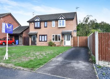 Thumbnail 2 bed semi-detached house to rent in Partridge Way, Mickleover