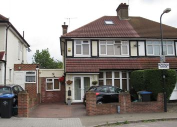 Thumbnail 4 bed semi-detached house for sale in Elmstead Avenue, Wembley