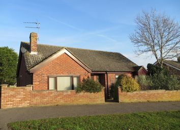 Thumbnail 3 bed detached bungalow for sale in Roman Way, Halesworth