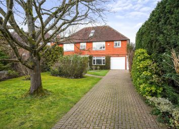 Thumbnail 6 bed detached house for sale in Lower Peryers, East Horsley, Surrey