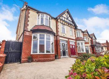 Thumbnail 4 bed semi-detached house for sale in Sandhurst Avenue, Blackpool, Lancashire, .