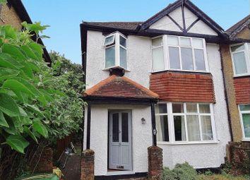 Thumbnail 3 bed semi-detached house for sale in Tavistock Avenue, St Albans