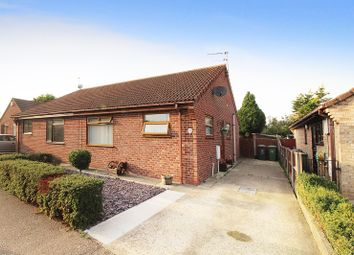 Thumbnail 2 bed semi-detached bungalow for sale in Covent Garden Road, Caister-On-Sea, Great Yarmouth