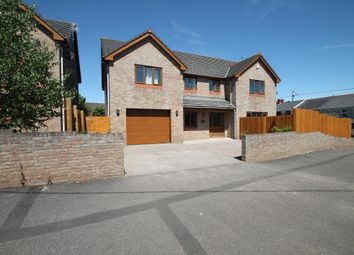 Thumbnail 4 bed detached house for sale in Caroline Avenue, North Cornelly, Bridgend