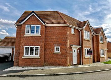 Thumbnail 3 bed detached house for sale in Capito Drive, North Hykeham